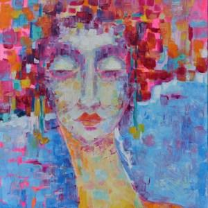 Obrazy olejne postacie kobiet - Soraya
