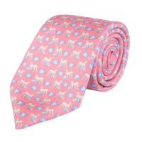 Cheetah Print, Pink Classic Silk Tie | Seasonal ...