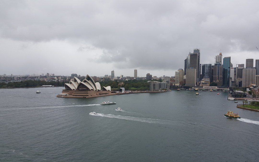 Life from Atop the Harbour Bridge