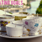{Handmade Business in 31 Days — Day 4, Creating goals.}