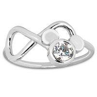 Disney Arribas Brothers Ring - Mickey Mouse Infinity Loop