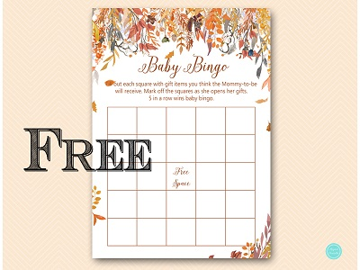 TLC548-bingo-gift-items-autumn-fall-baby-shower-games-free