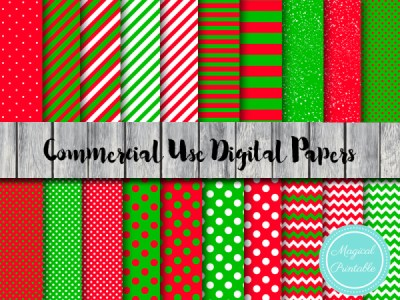 christmas-digital-papers-christmas-scrapbook-papers-santa-digital-papers-little-helper