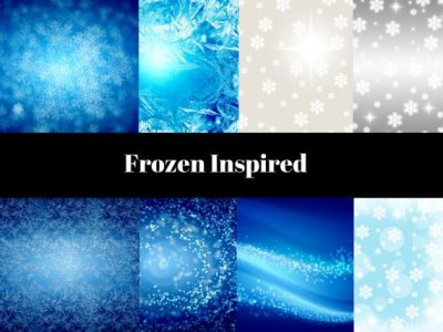 frozen digital paper
