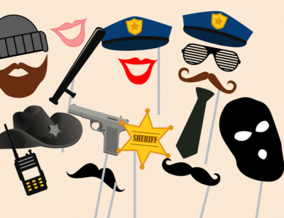 cops-and-robber-party-photobooth-props