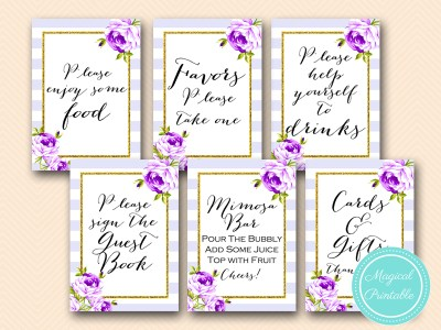 purple-lavender-bridal-shower-signs-wedding-baby-shower-florals-chic-bs411
