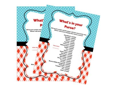 what's in your purse game, thing 1 thing 2, twins, dr seuss