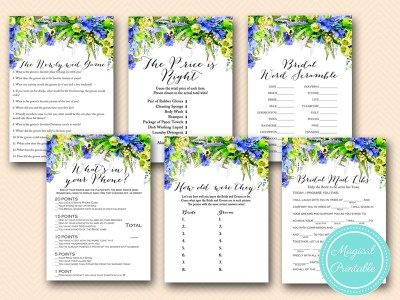 bs175 blue floral bridal shower games