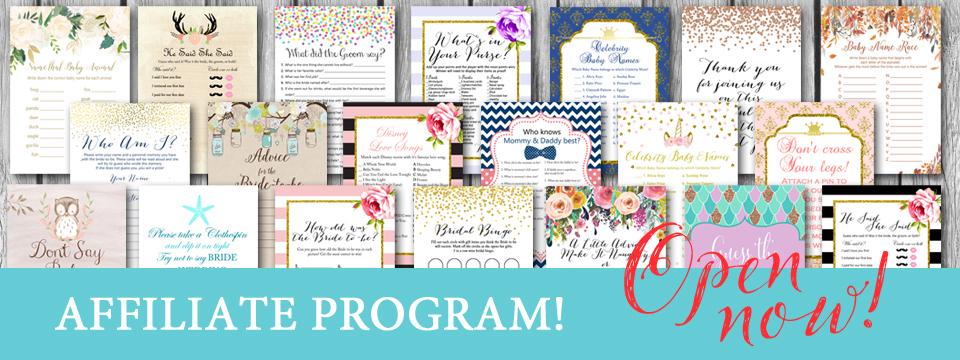 Magical Printable Affiliates Program