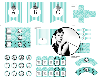 Breakfast at Tiffany's Shower Feat. Audrey Hepburn