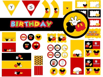 Mickey Mouse Birthday Package