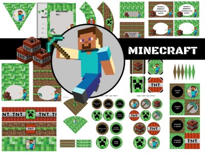 minecraft party pack
