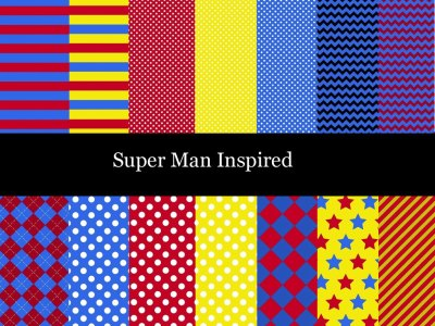 superman digital paper