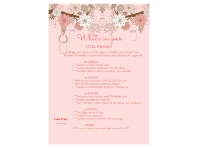 modern_bridal_shower_game_whats_in_your_cellphne