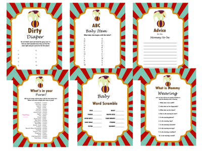 vintage_circus_carnival_baby_shower_games