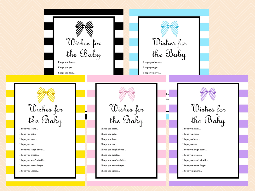 for the baby card baby boy blue baby shower wishes card printables