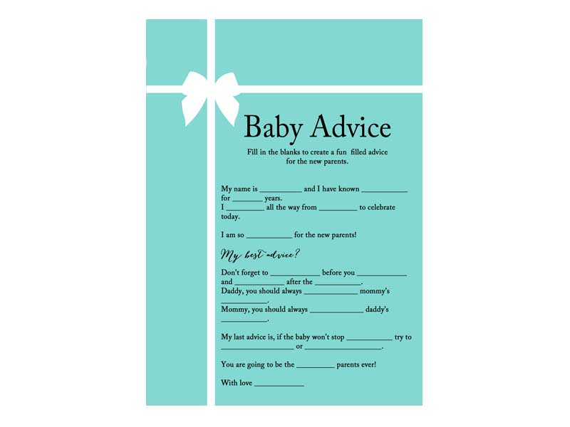 Baby Advice Mad Libs Template Bing Images