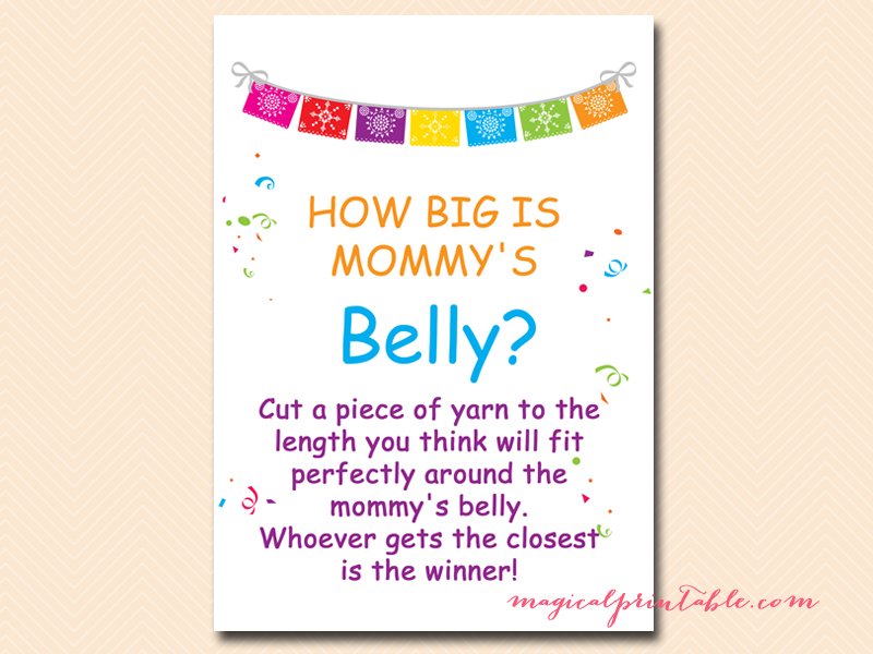 This is a graphic of Légend How Big is Mommy's Belly Printable