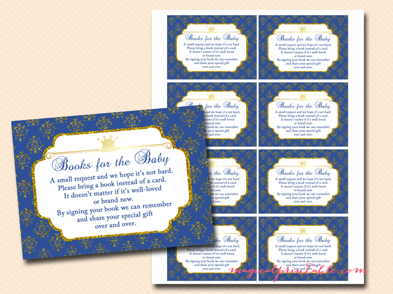 royal prince baby shower game pack