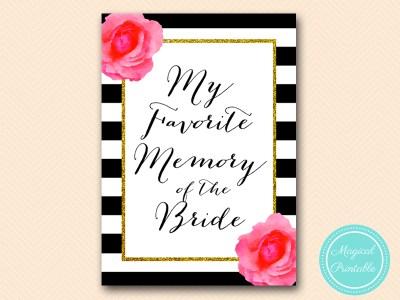 my-favorite-memory-of-bride-sign