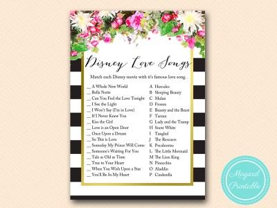BS176-disney-love-songs-pink-floral-bridal-shower-games