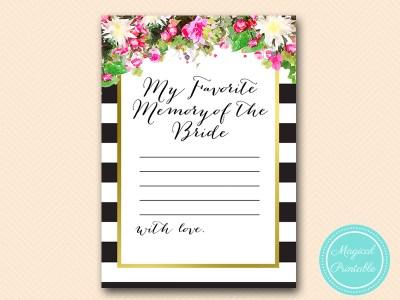 BS176-favorite-memory-of-bride-sign-pink-floral-bridal-shower-games