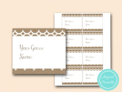 how-many-cards-rustic-burlap-lace-bridal-shower-game-shabby-bs173