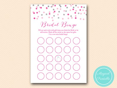 BS179-bingo-gift-items-silver-pink-bridal-shower-games-printable