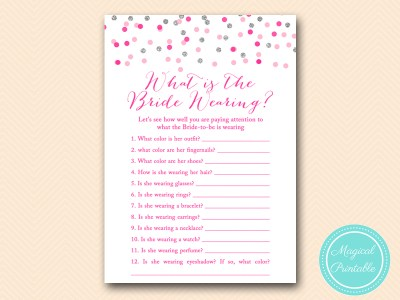 BS179-whats-the-bride-wearing-silver-pink-bridal-shower-games-printable