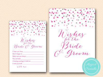 BS179-wishes-for-bride-and-groom-silver-pink-bridal-shower-games-printable