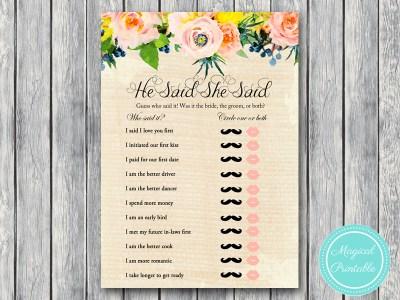 BS183-he-said-she-said-rustic-burlap-floral-bridal-shower-games