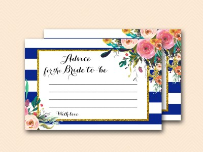 BS404-advice-for-bride-to-be-navy-blue-bridal-shower