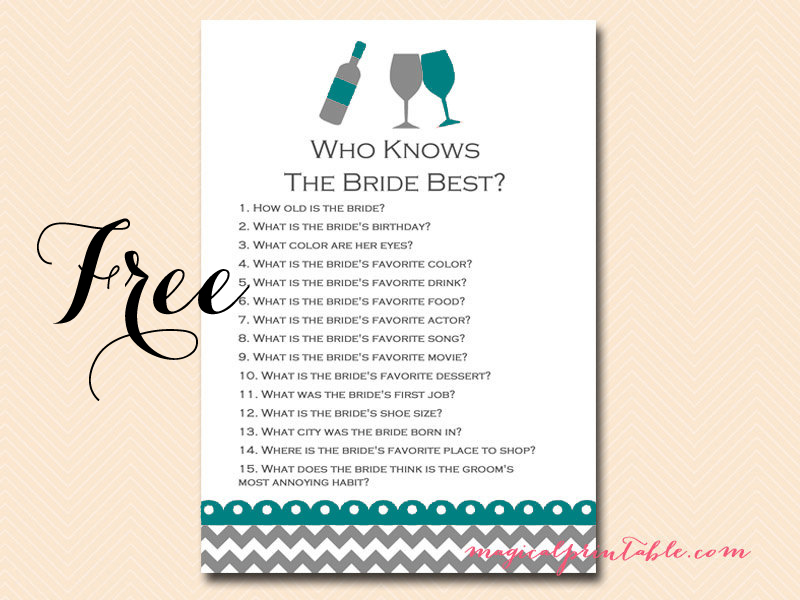 free wined themed bridal shower game pack