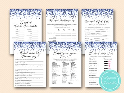 navy bridal shower games printable download bs408