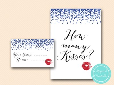BS408-how-many-kisses-sign-blue-confetti-bridal-shower-game