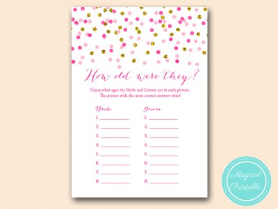 BS425-how-old-were-they-bride-groom-pink-gold-bridal-shower-game