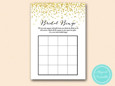 BS46-bridal-bingo-4-squares-gold-bridal-shower-games