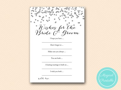 wishes-for-bride-and-groom-card-silver-bridal-shower-bs149