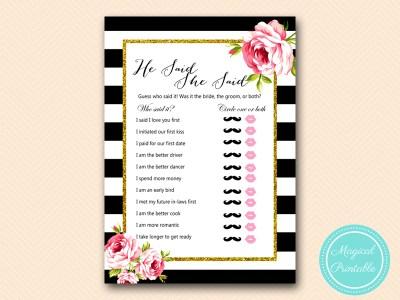 BS10B-he-said-she-said-black-stripes-pink-floral-chic-bridal-shower-game