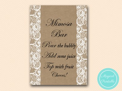 BS16-sign-mimosa-bar-burlap-lace-bridal-shower-decor-sign