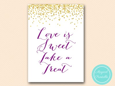 BS84-sign-love-is-sweet-take-a-treat-gold-purple-bridal-shower-decoration-sign