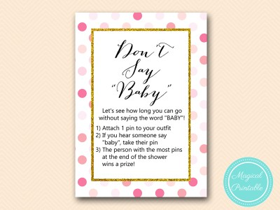 TLC430-P-dont-say-baby-pink-gold-baby-shower-game-girl