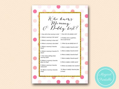 TLC430-P-who-knows-mommy-daddy-best-pink-gold-baby-shower-game-girl