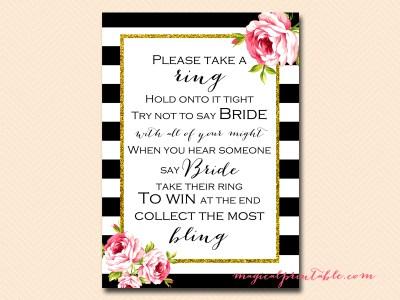 dont-say-bride-black-stripes-pink-floral-chic-bridal-shower-game