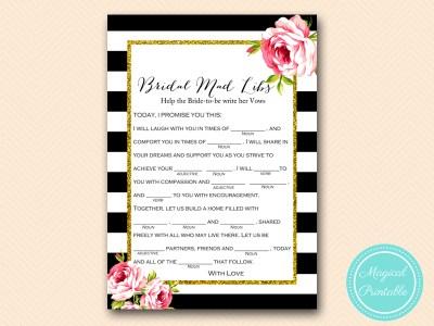 mad-libs-help-write-vowsr-bride-black-stripes-floral-bridal-shower-game