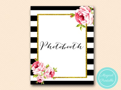 sign-photobooth-floral-black-stripes-bridal-shower