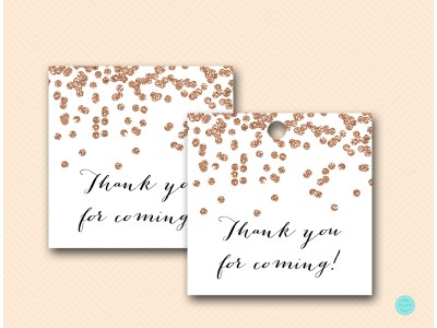 BS155 Favor-tags-2inches-pink-gold-rose-bridal-shower-favor-tags