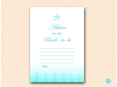 advice-for-bride-beach-bridal-shower-game