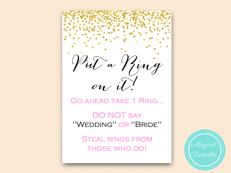 Decisive image pertaining to put a ring on it bridal shower game free printable