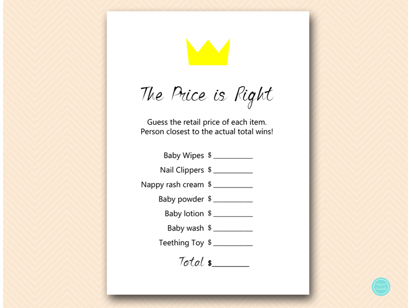 Where The Wild Things Are Rumpus Baby Shower Games Magical Printable